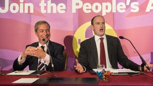 UKIP have backed Douglas Carswell as a candidate in the by-election