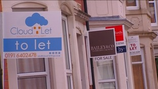 'To let' signs in Jesmond