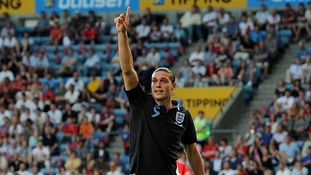England Euro 2012 Andy Carroll