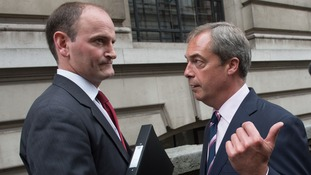 Douglas Carswell and Nigel Farage will be heading to Clacton today.