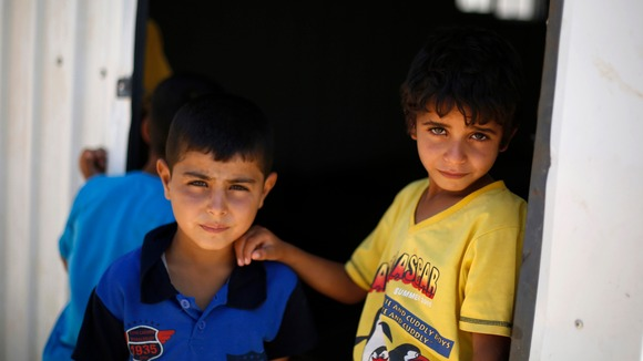 More than half of all displaced Syrians are children.