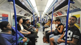 Londoners' bad habits on the tube