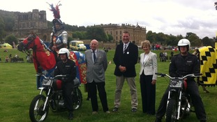 Over 100,000 people are expected at Chatsworth House