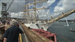 The Tall Ships bring £6k to the Falmouth economy
