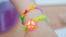 The loom band charms contain chemicals which have banned in toys in the EU for several years.