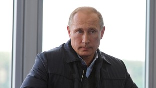Vladimir Putin was speaking at a pro-Krelim youth camp.