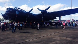 The wartime Lancaster bomber