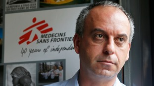 Mego Terzian, head of Medecins sans Frontieres France, has called for Western governments to do more