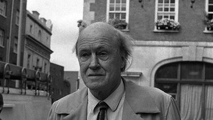 Roald Dahl pictured in 1988.