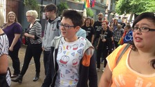Leicester's Pride parade for woman in sexuality attack