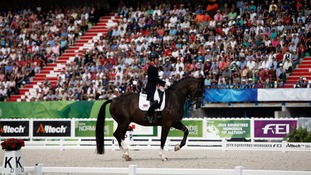 Charlotte Dujardin riding Valegro