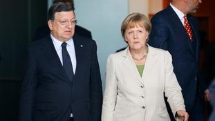 Barroso and Merkel