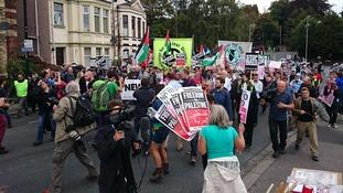 Protest Newport