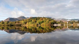 Reflections in Derwentwater