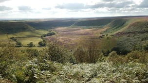 Hole of Horcum plains