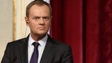 The new president of the European Council, Donald Tusk.