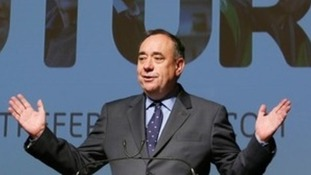 Scottish First Minister Alex Salmond.