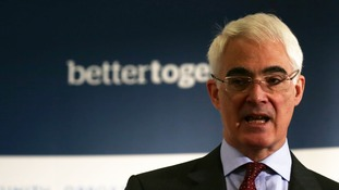 Alistair Darling, Chairman of the Better Together campaign.