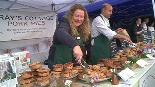 Sarah Pettegree of Bray's Cottage Pork Pies.