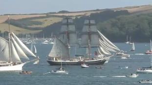 Organisers of Falmouth's Tall Ships regatta look at benefit to Cornwall