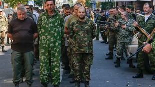 If talks are successful pro-Russian separatists said they will release Ukrainian prisoners-of-war.