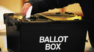 File photo of a ballot box.