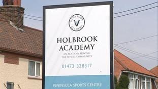 Holbrook Academy near Ipswich.