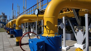Russia has threatened to cut off its gas supply to Europe.