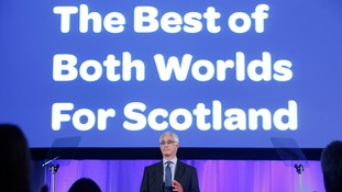 Better Together leader Alistair Darling