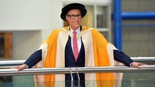 Gok Wan at Birmingham's Symphony Hall for the ceremony