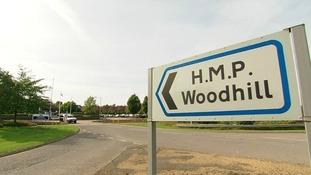 Woodhill prison in Milton Keynes.