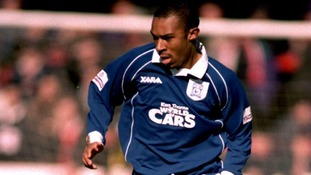 Daniel Gabbidon in action for Cardiff City