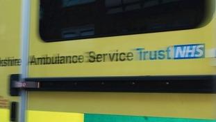 Yorkshire Ambulance Service ambulance