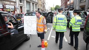 cab protest