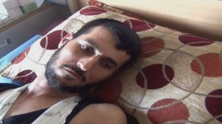 Elias Saleh told the charity he survived a massacre in Kocho.