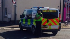 Bomb disposal unit sent to help police station