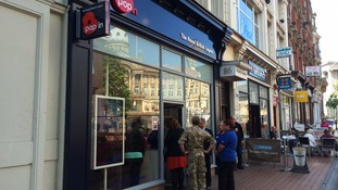 The Royal British Legion have opened a 'Pop In' centre in Birmingham