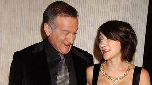 Robin Williams and his daughter Zelda Williams pictured in October 2006.
