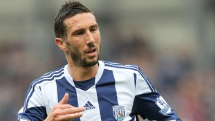 Amalfitano played for West Bromwich Albion during the 2013-214 campaign.