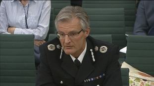 South Yorkshire chief constable David Crompton.