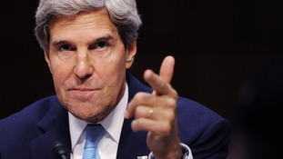 John Kerry will be part of the team heading to the Middle East.