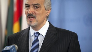 Bashar Ja'afari, Syria's ambassador to the United Nations