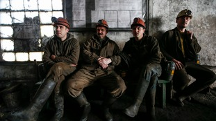 Miners in eastern Ukraine.
