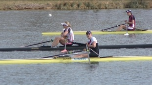 Olympic trials at Eton Dorney