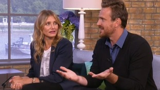 Cameron Diaz and Jason Segel on This Morning.