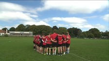 Plymouth Albion train for the new season