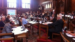 Sheffield Council meet for PCC discussion.