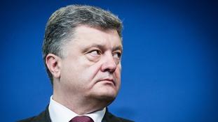 President of Ukraine Petro Poroshenko.