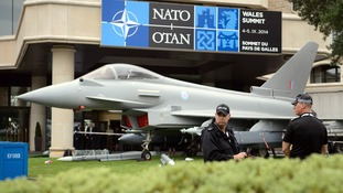 The Nato summit is being held in south Wales this week.