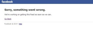 Facebook appears to have gone offline.